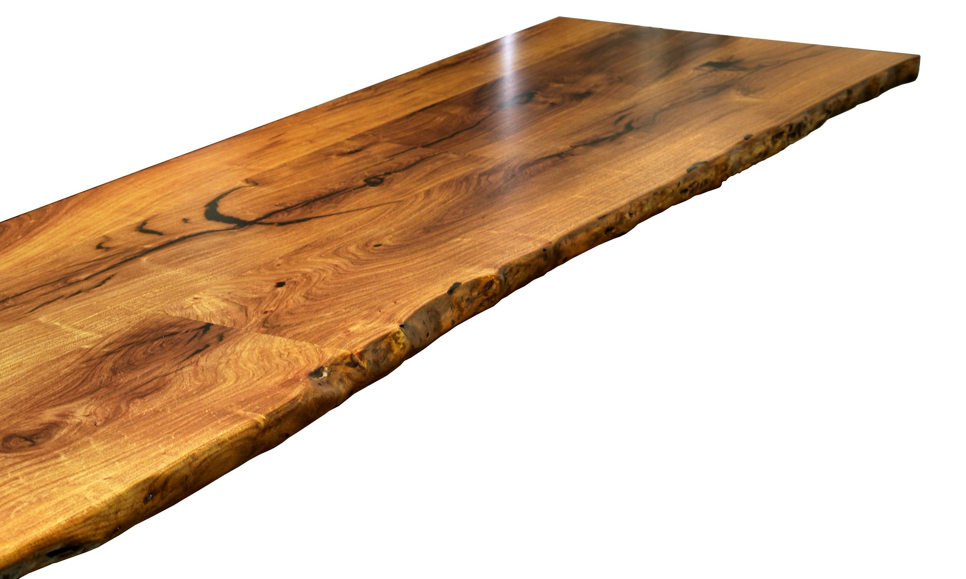 custom and wood citrus table pecan on edges designing top a countertops finish natural oil slab tung tops with wane