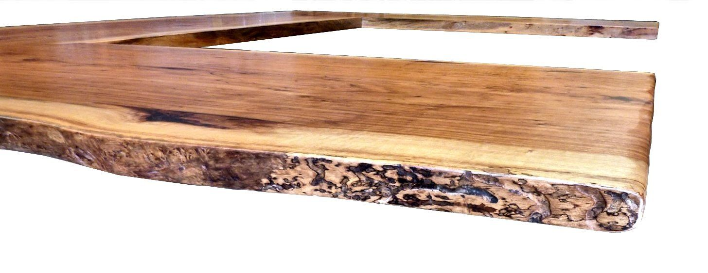 Natural edges wane edges on custom wood countertops and for Natural edge wood countertops