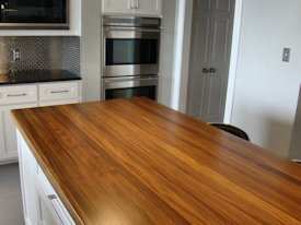 Photo Gallery of Afromosia Wood countertops