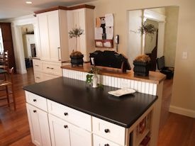 Photo Gallery of Red Oak Wood countertops
