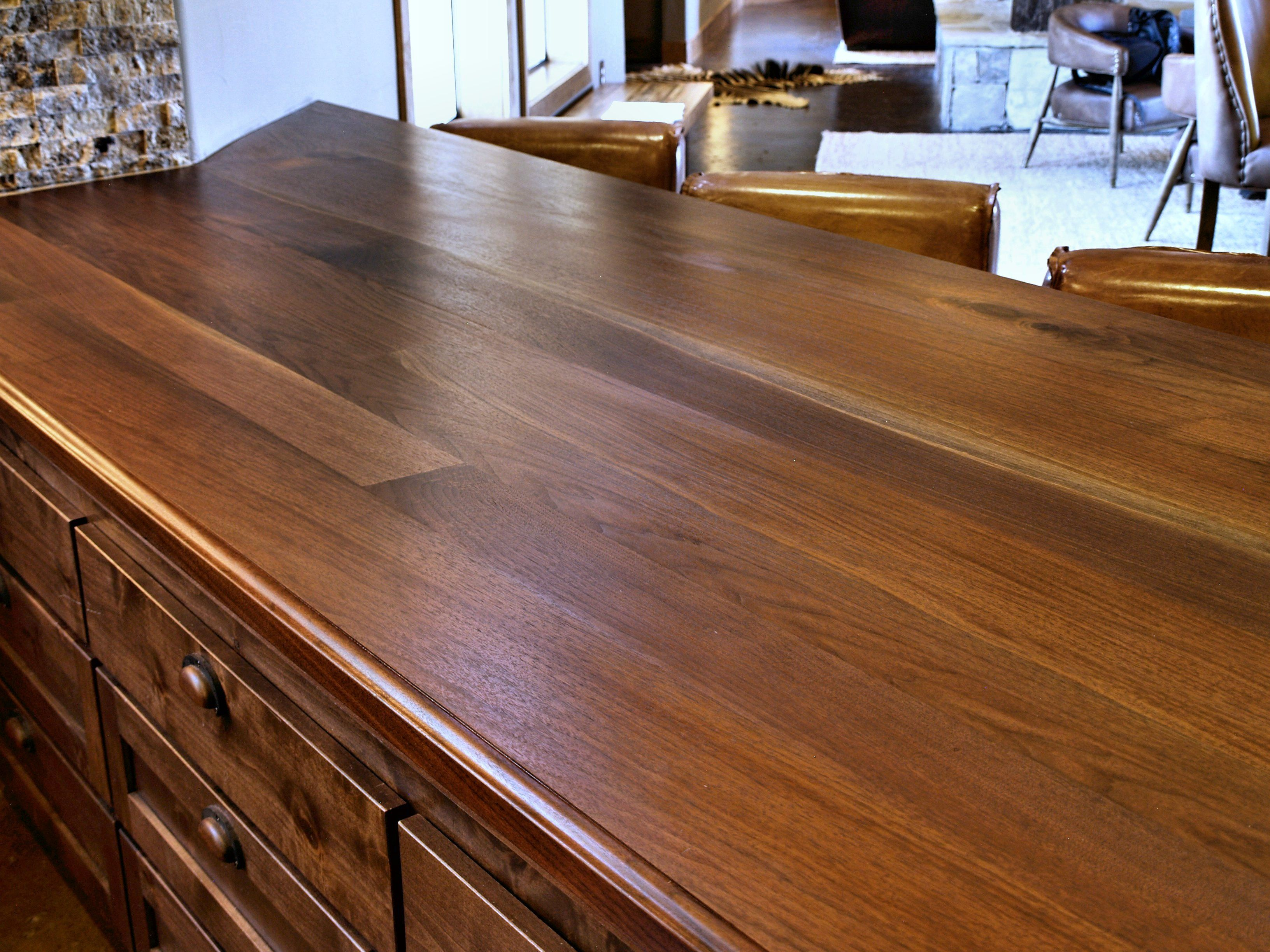 kitchen countertops walnut edge countertop island j grain aaron