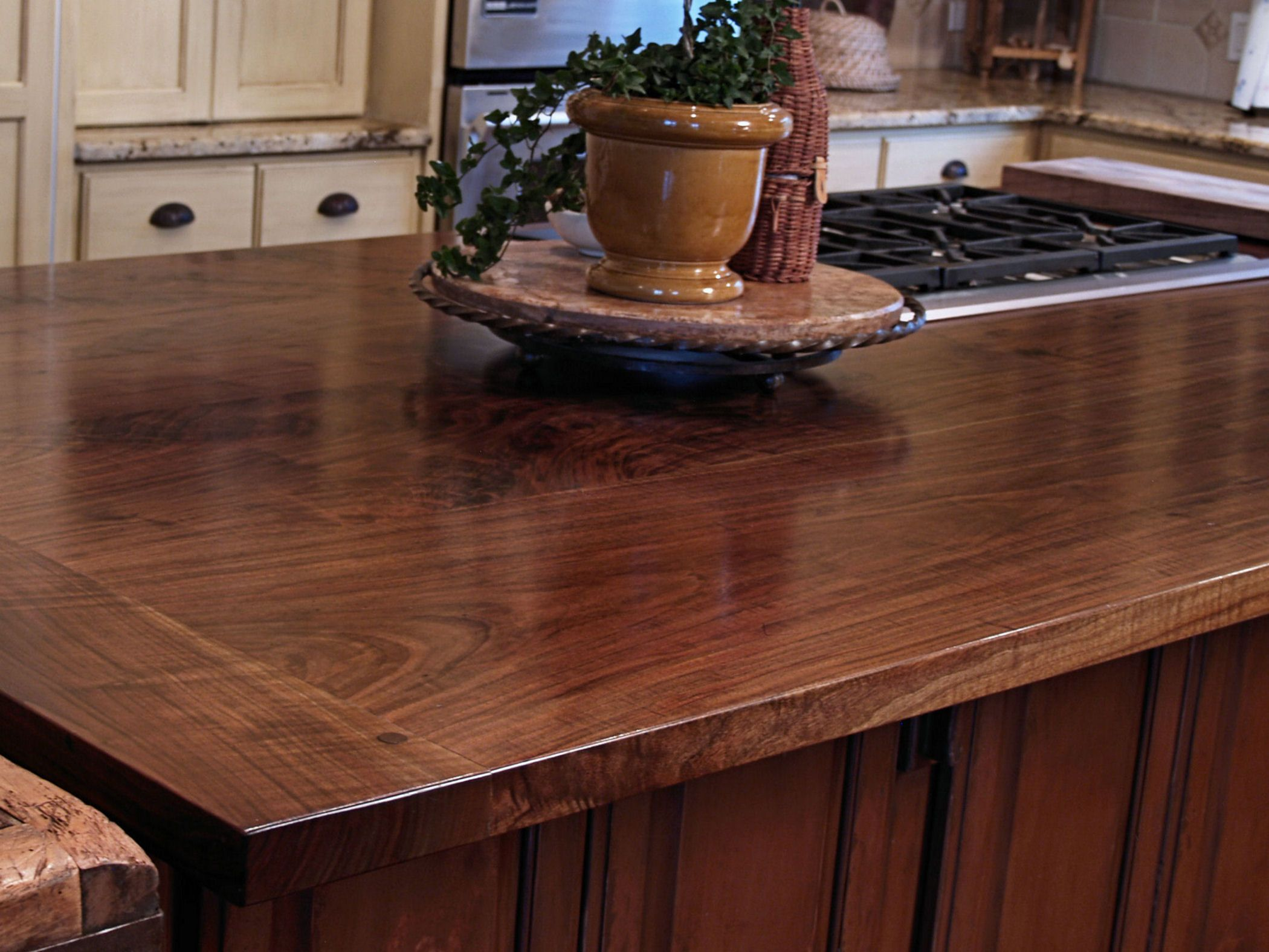 Texas Walnut Photos Custom Wood Countertops Butcher