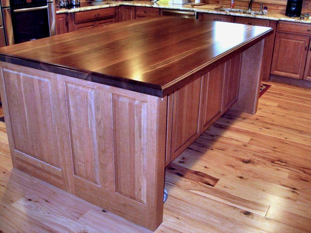 Devos custom woodworking tx walnut wood countertop photo for Island woodworking