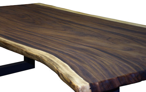 Guanacaste Parota Wood Slab Table Top With Toc Finish