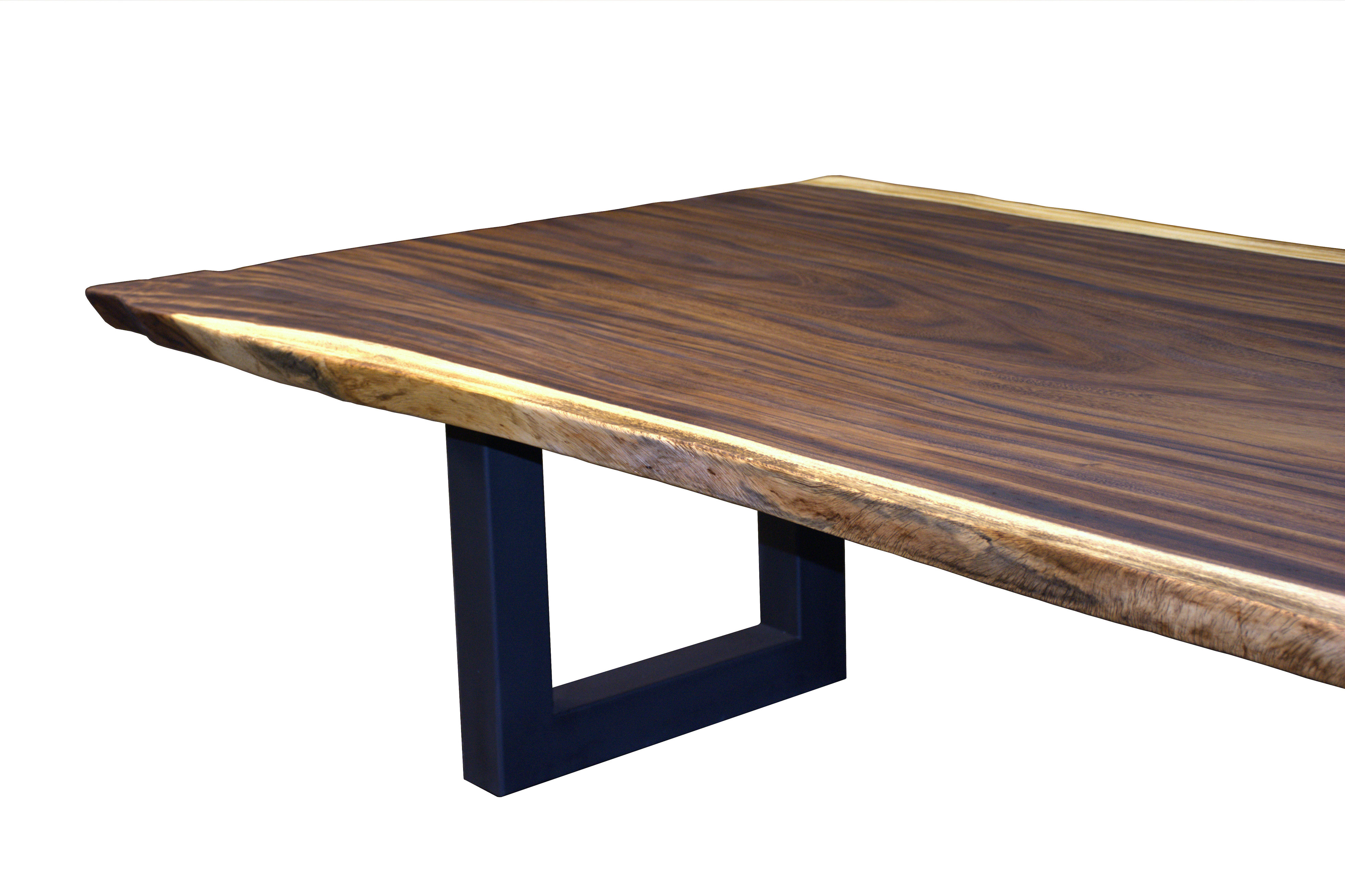Guanacaste Parota Live Edge Wood Slab Countertop Photo Gallery