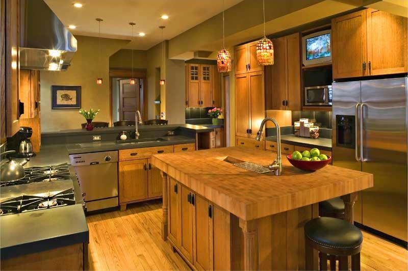 hard maple wood countertop photo gallery by devos custom. Black Bedroom Furniture Sets. Home Design Ideas