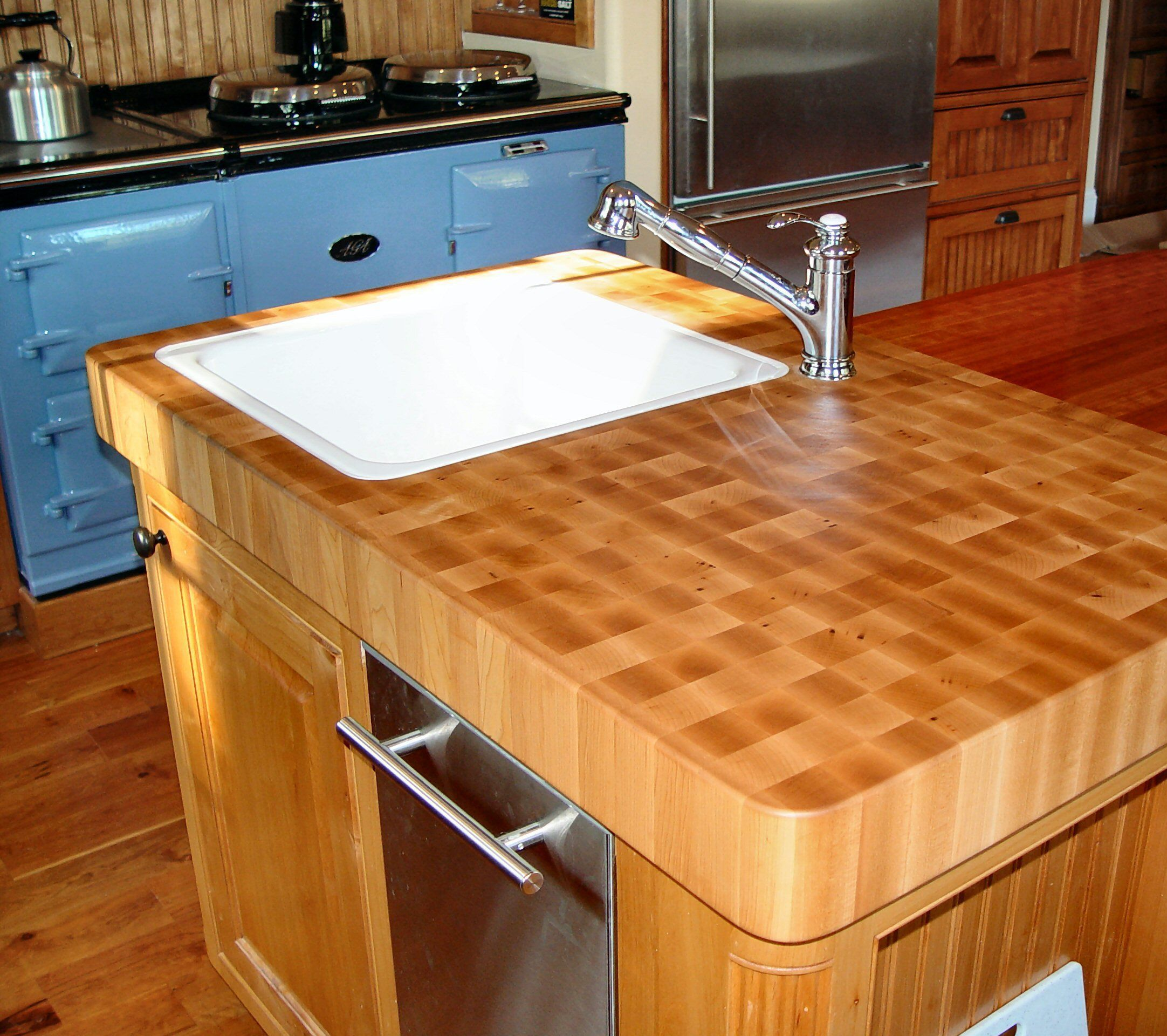 Maple Kitchen Countertops: Hard Maple Wood Countertop Photo Gallery, By DeVos Custom