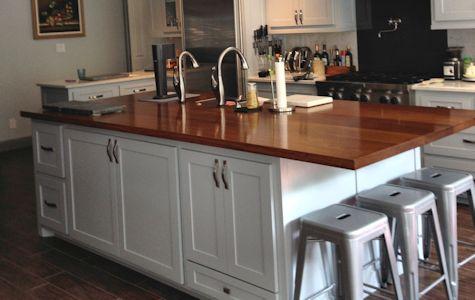 Iroko Custom Wood Countertops Island Tops Table Tops