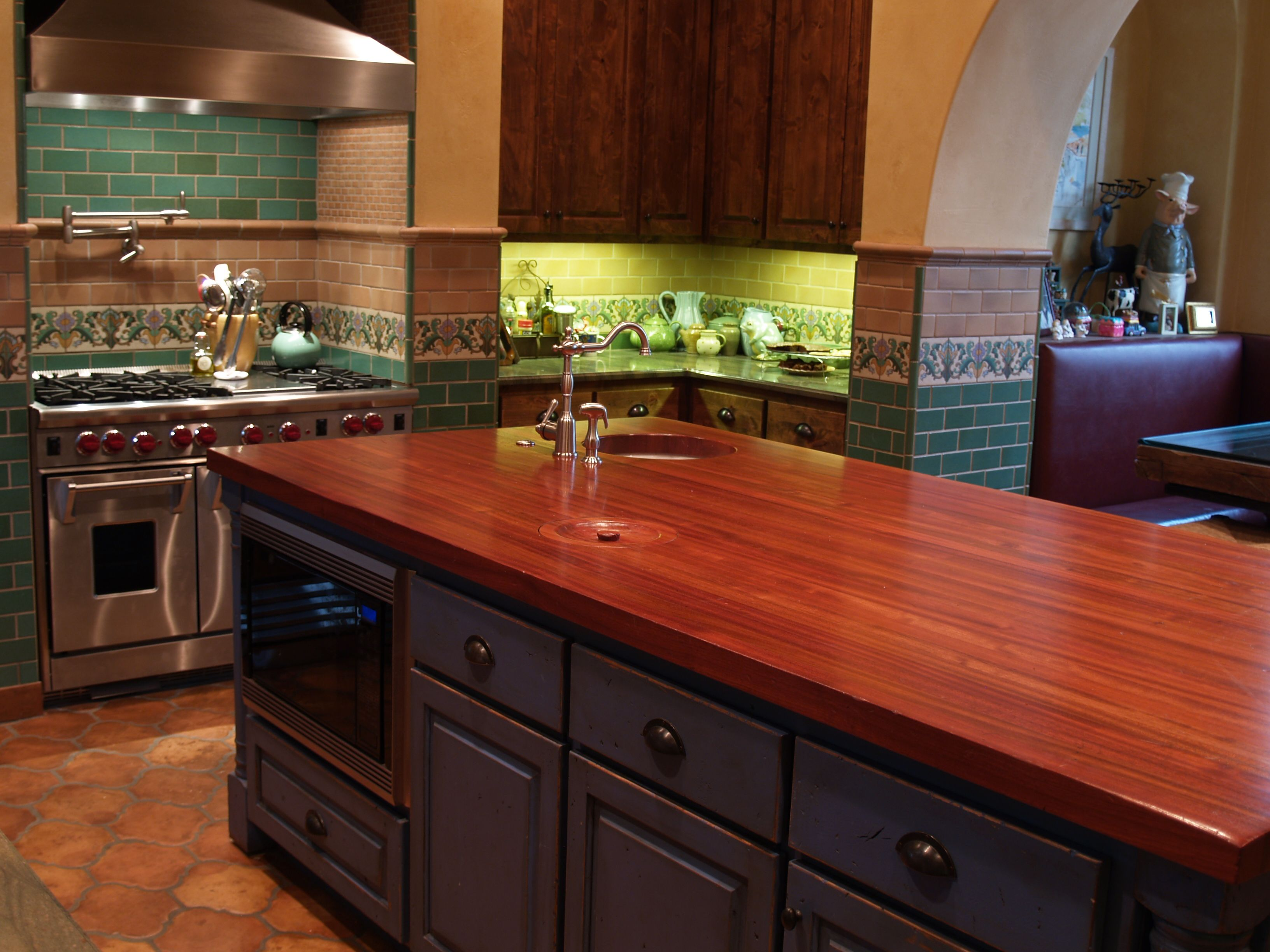 Jatoba Wood Countertop Photo Gallery By Devos Custom