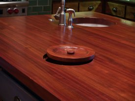 Photo Gallery of Jatoba Wood countertops