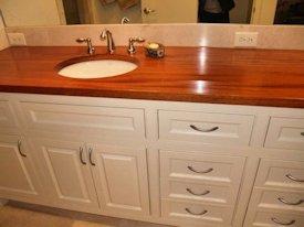 Luxury Diy Bathroom Countertop Made Reclaimed Wood