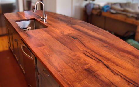 Mesquite Custom Wood Countertops Island Tops Table Tops