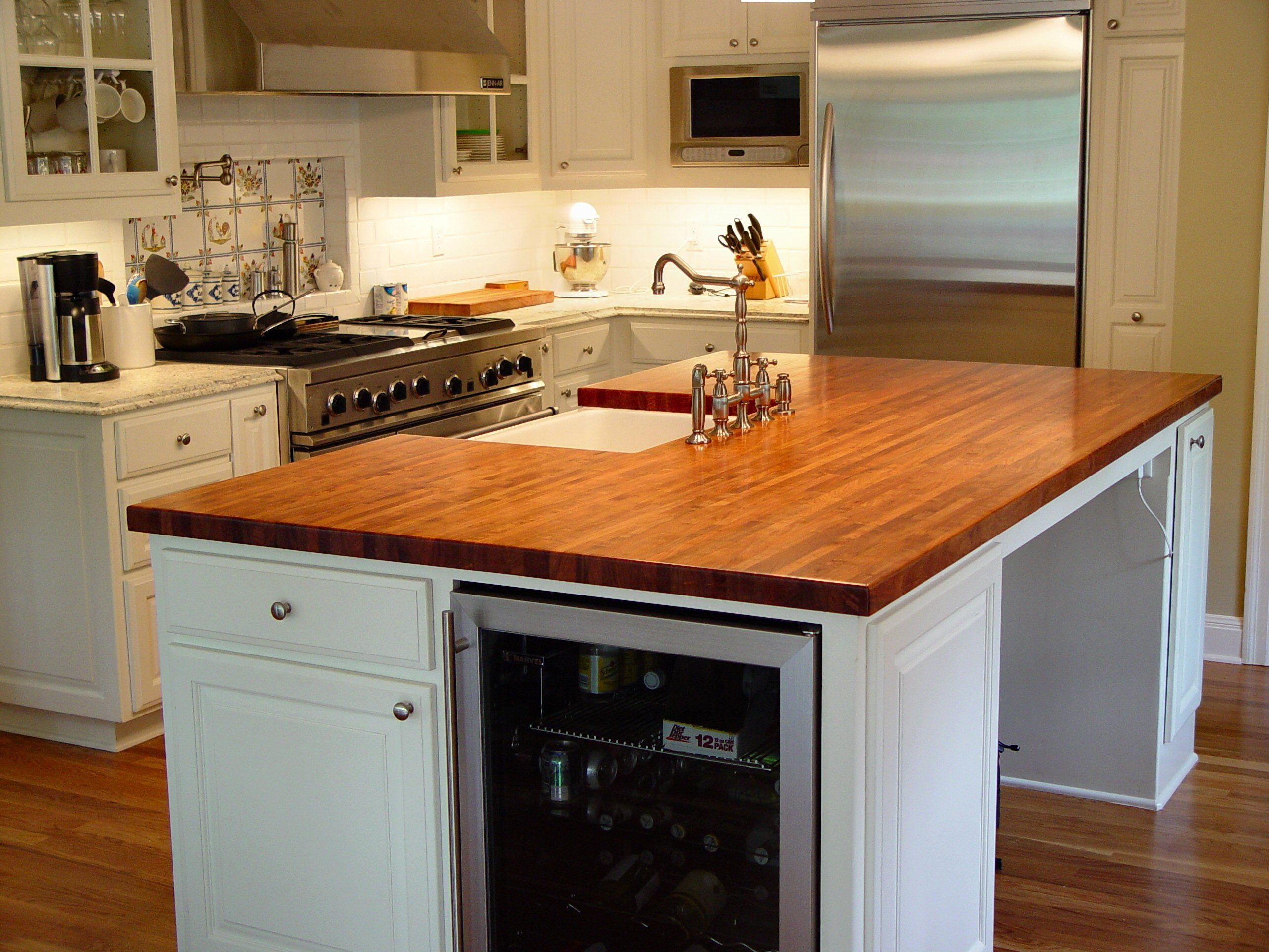 Mesquite Wood Countertop Photo Gallery By Devos Custom Woodworking