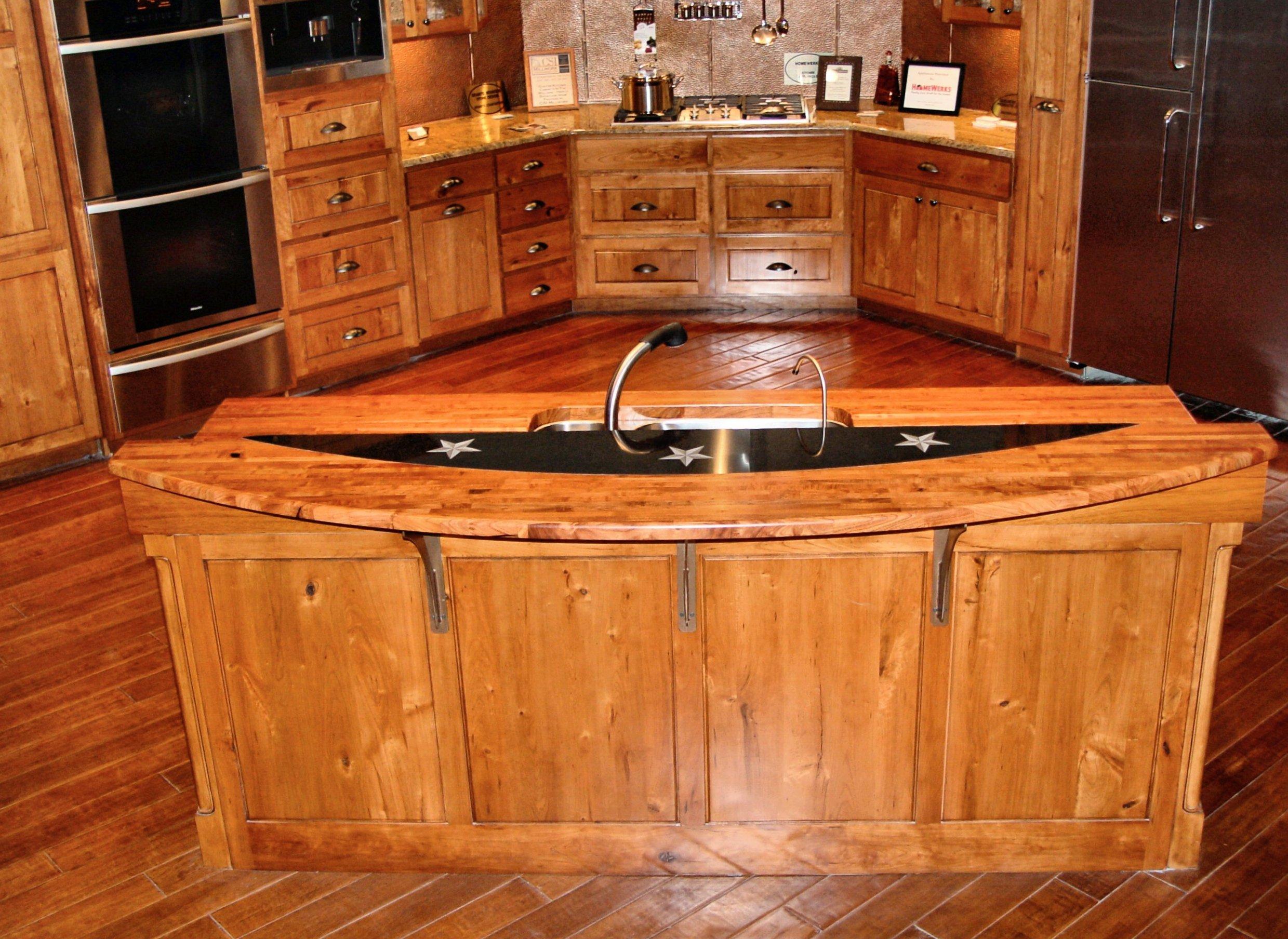Custom Wood Countertop Options Marble Granite And Wood