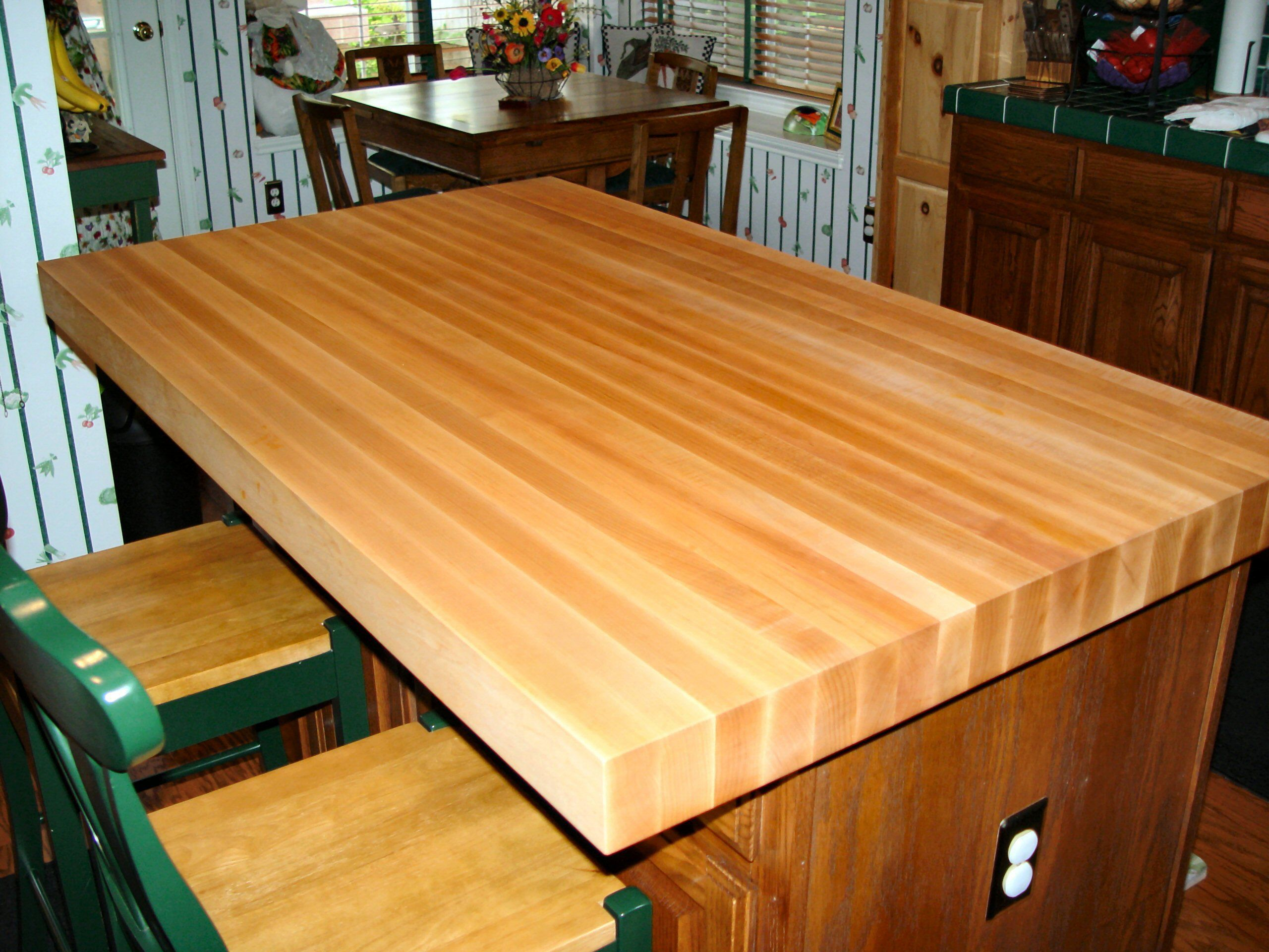Pecan Wood Countertop Photo Gallery By Devos Custom