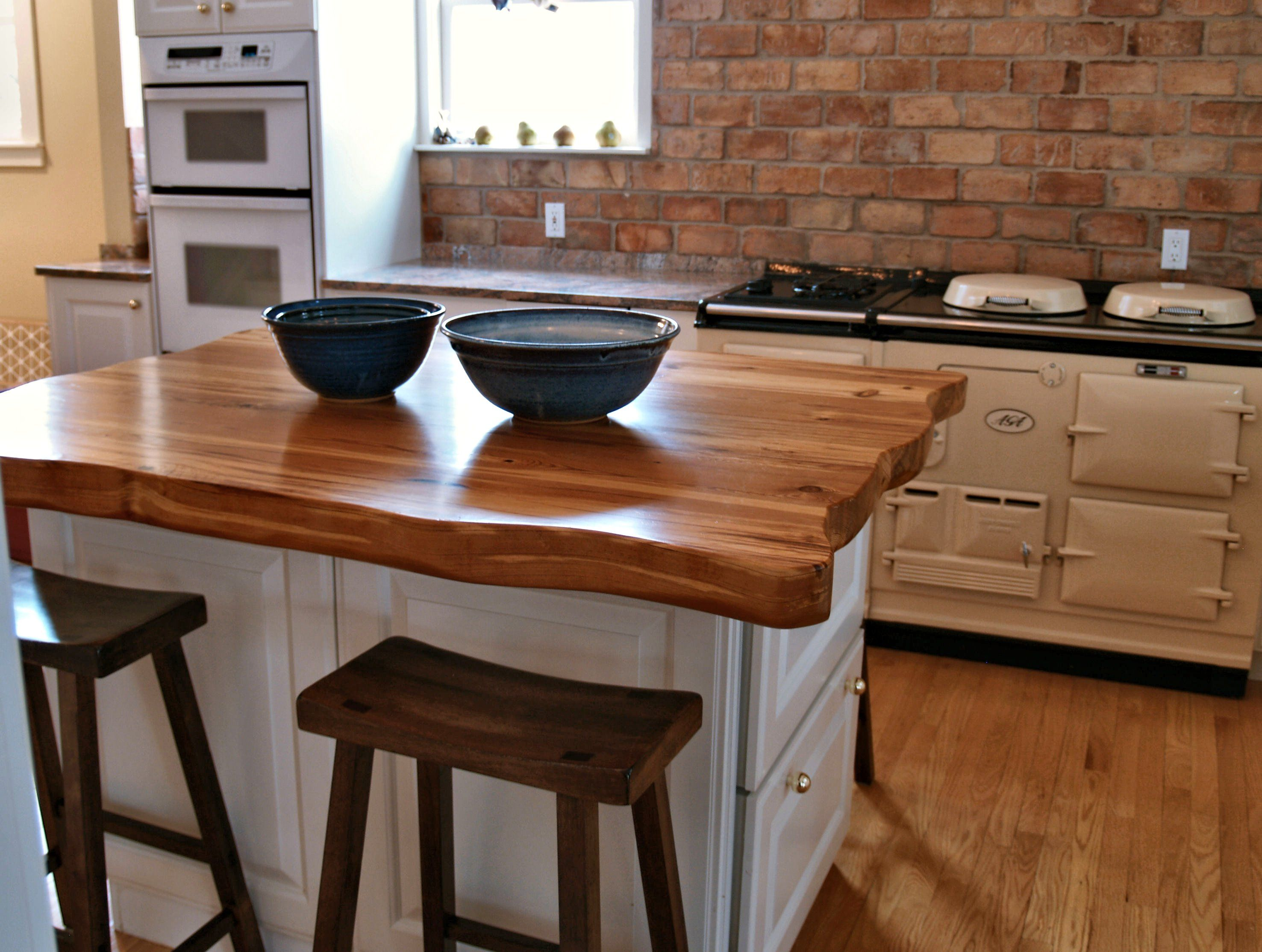 Reclaimed Longleaf Pine Wood Countertop Photo Gallery, by ...