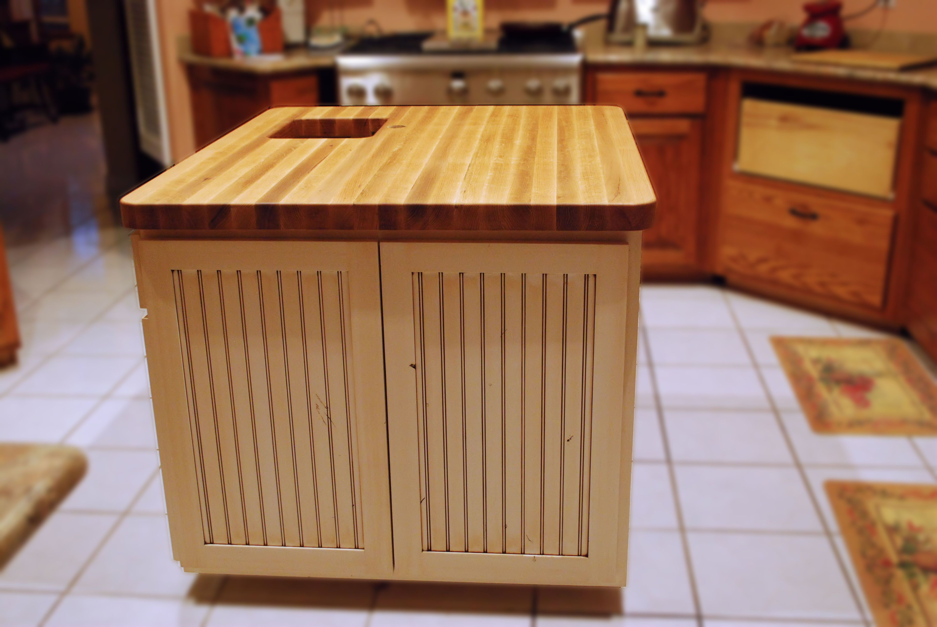 hickory block oak matchstick woods countertops butcher gallery