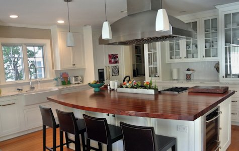 Custom Wood Countertops Kitchen Island Tops Butcher Blocks and
