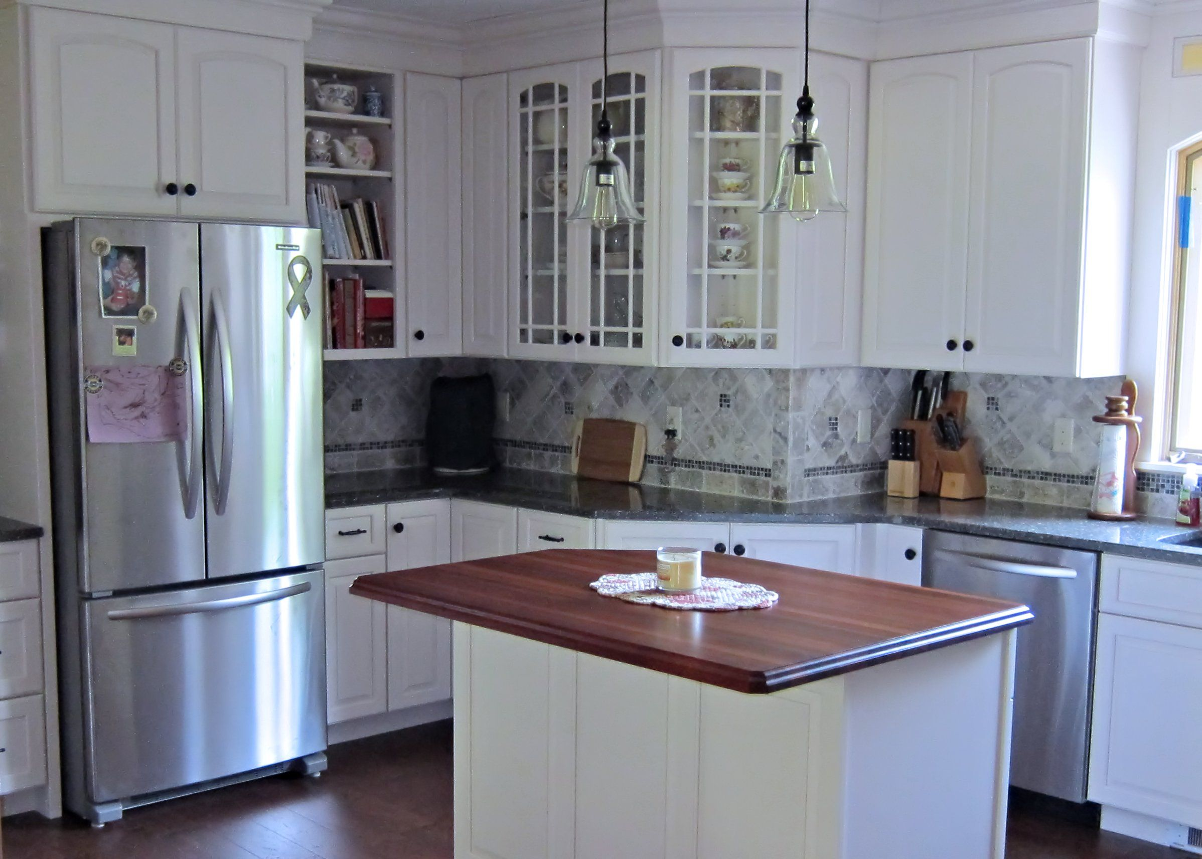 Custom Wood Countertops • Wood Island Tops • Butcher Block