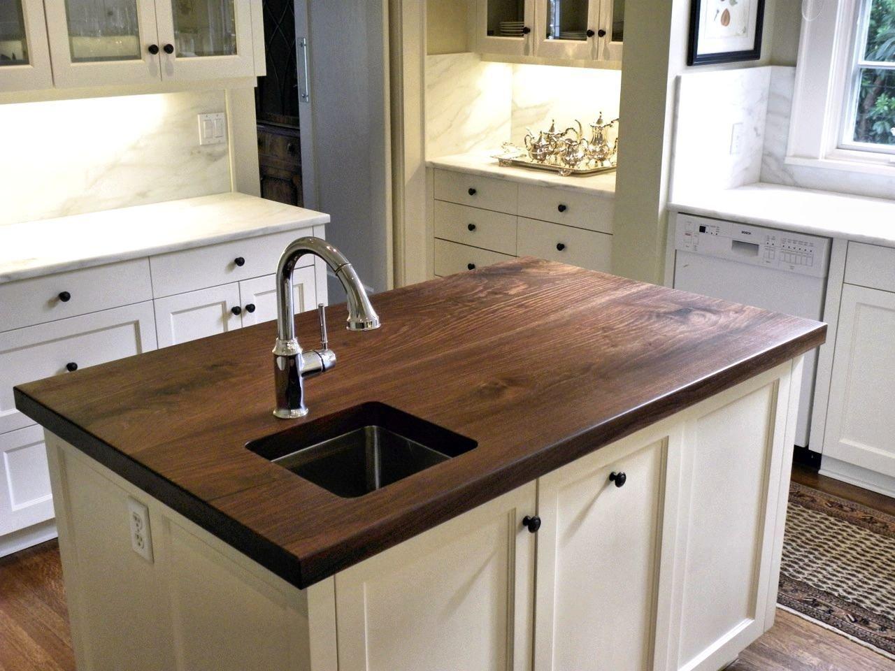 Slab Walnut Wood Countertop Photo Gallery By Devos Custom