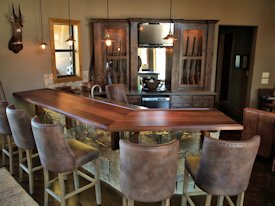Photo Gallery of Slab Walnut Wood countertops