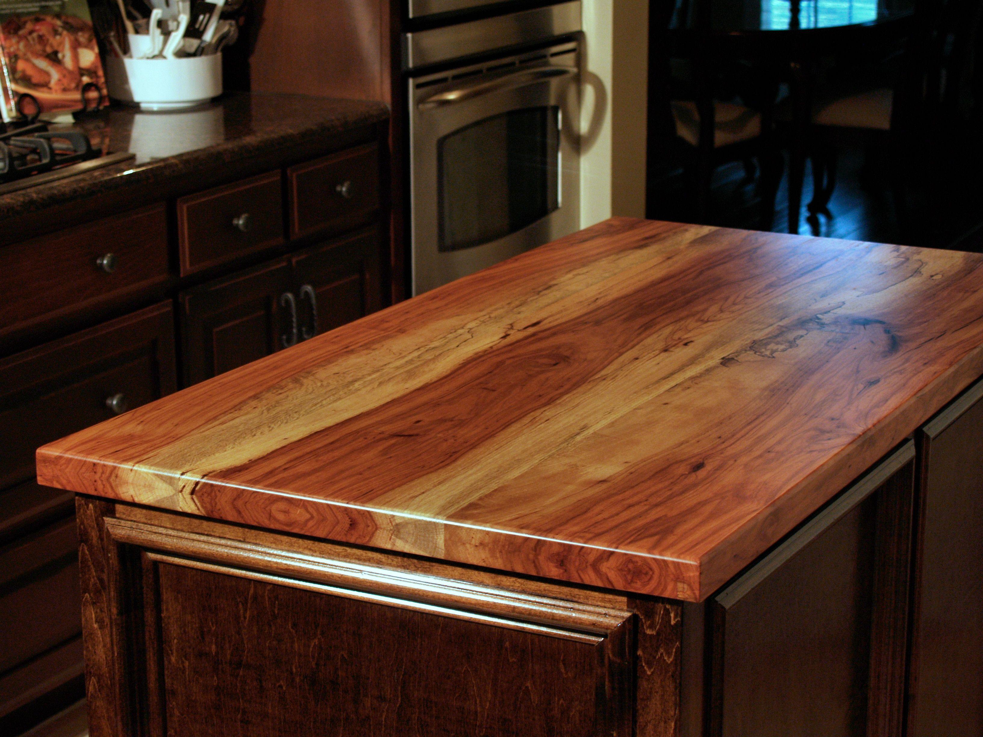 spalted pecan wood countertop photo gallery by devos custom woodworking. Black Bedroom Furniture Sets. Home Design Ideas