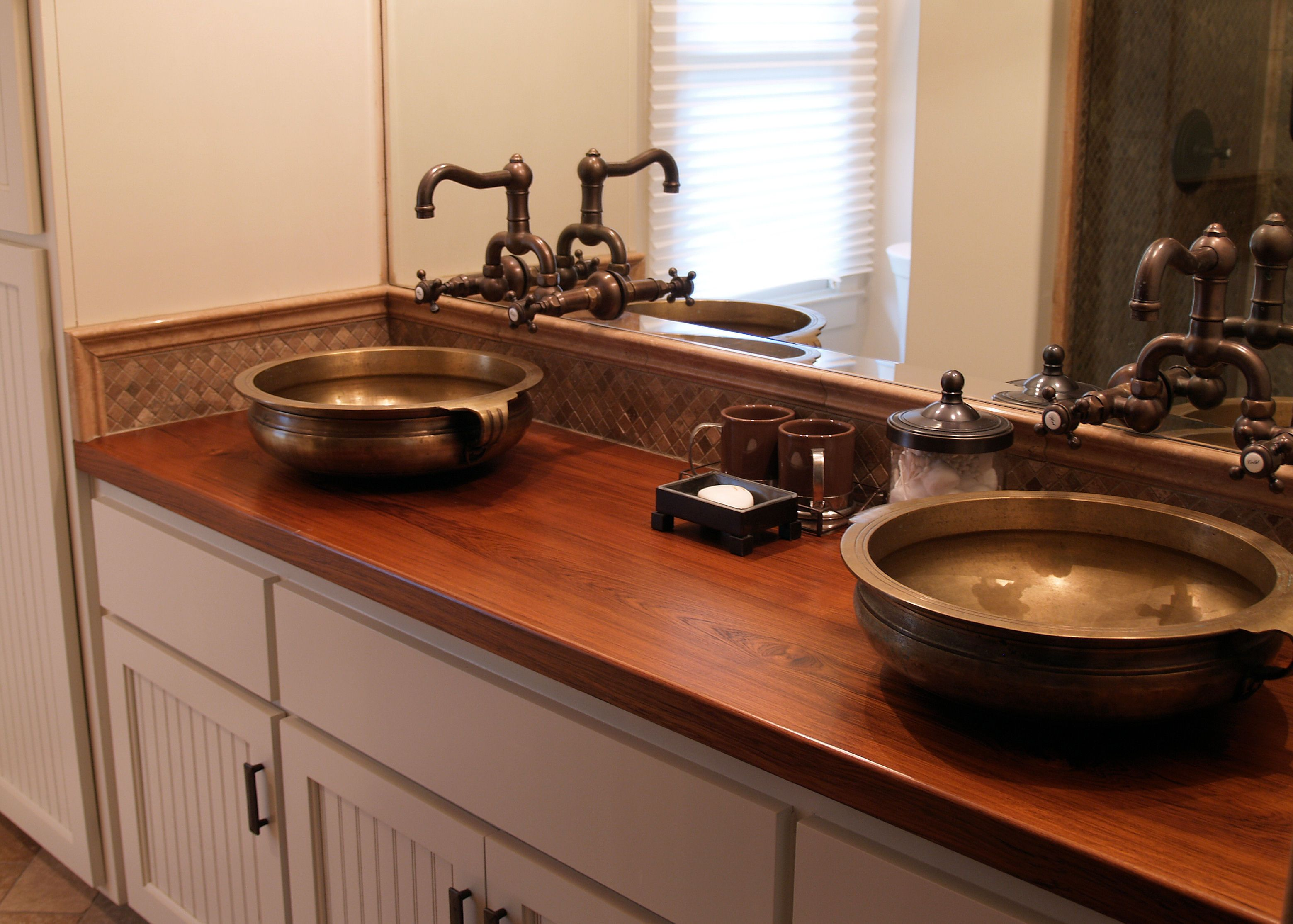 Best Wood For Butcher Block Countertops: Teak Wood Countertop Photo Gallery, By DeVos Custom