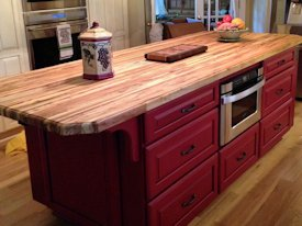 Photo Gallery of TX Pecan Wood countertops