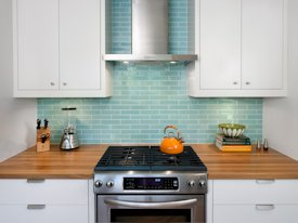 Photo Gallery of White Oak Wood countertops