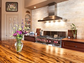 Photo Gallery of Zebrawood Wood countertops