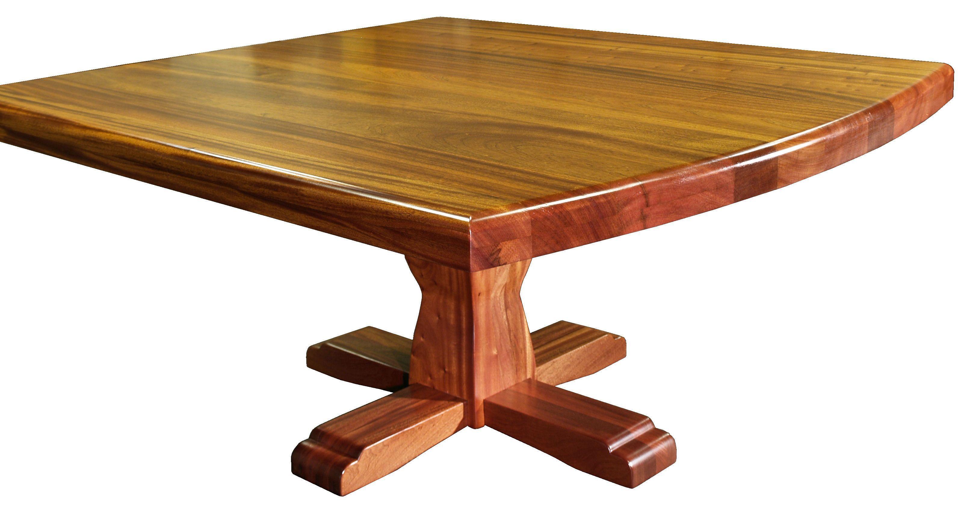 DeVos Custom Woodworking Custom Pedestal Style Tables