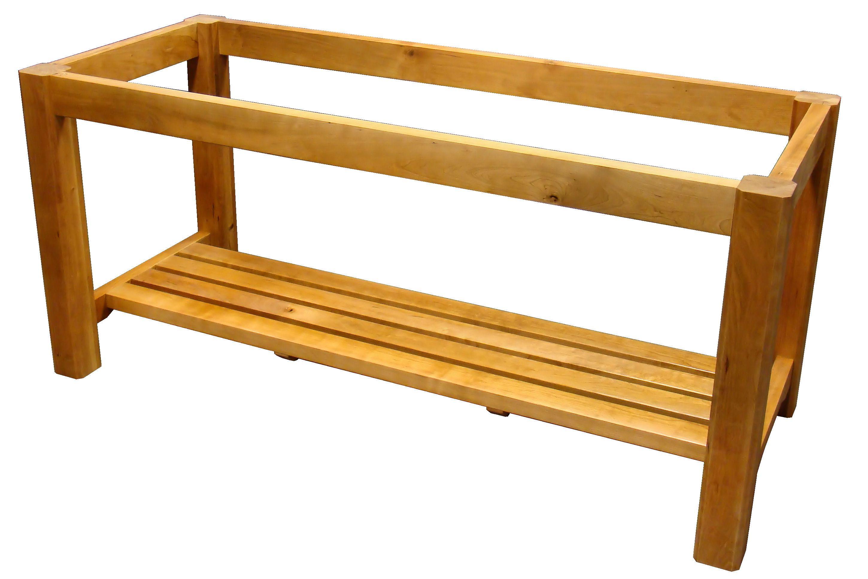 devos custom woodworking custom wood tables with shelves