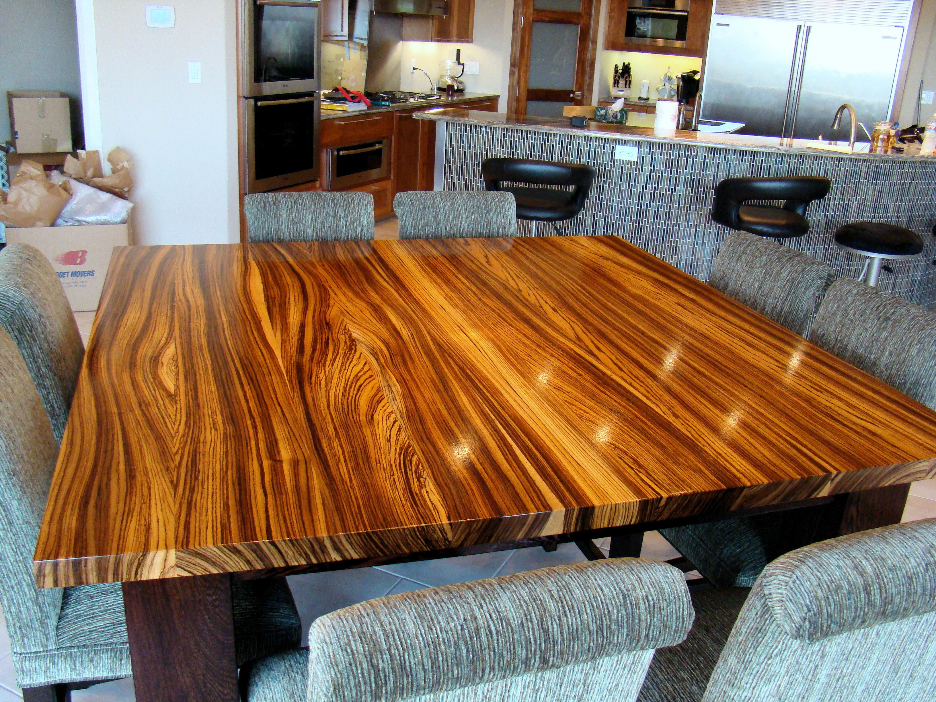 Devos custom woodworking traditional style tables
