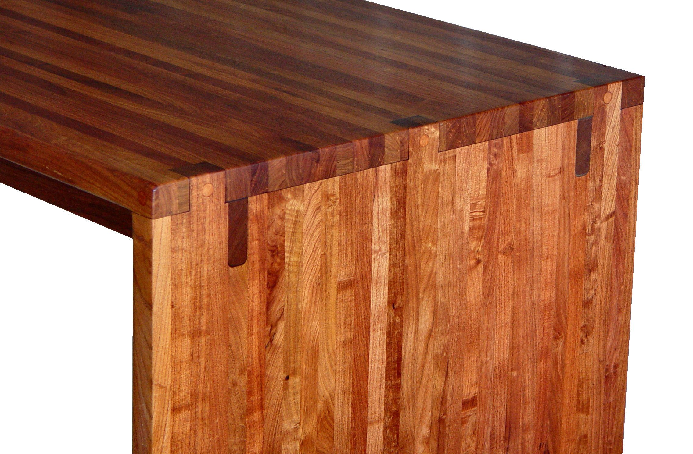 Devos custom woodworking custom contemporary eclectic for Table joints