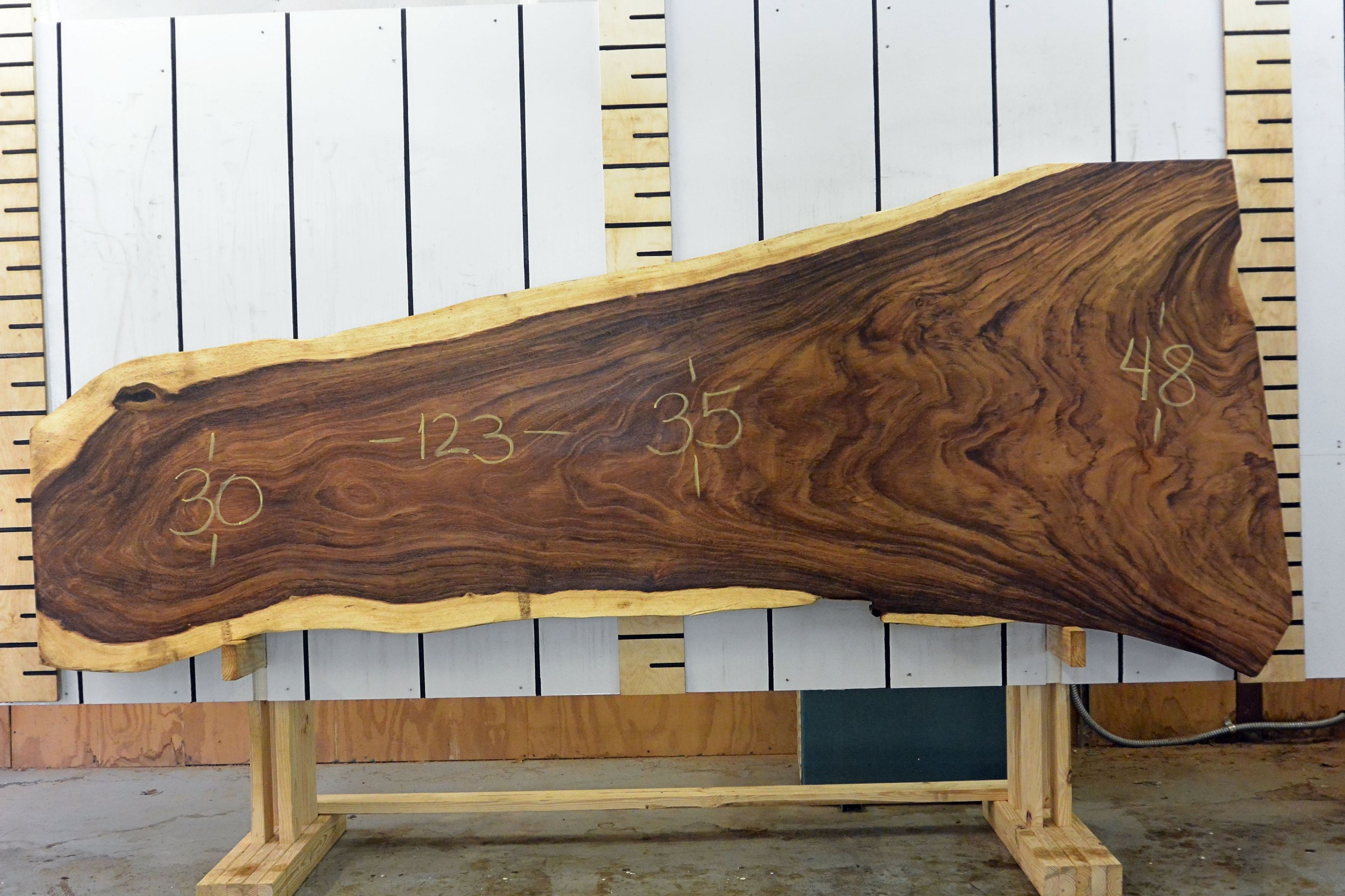 Live edge wood slabs available for Live edge slab lumber