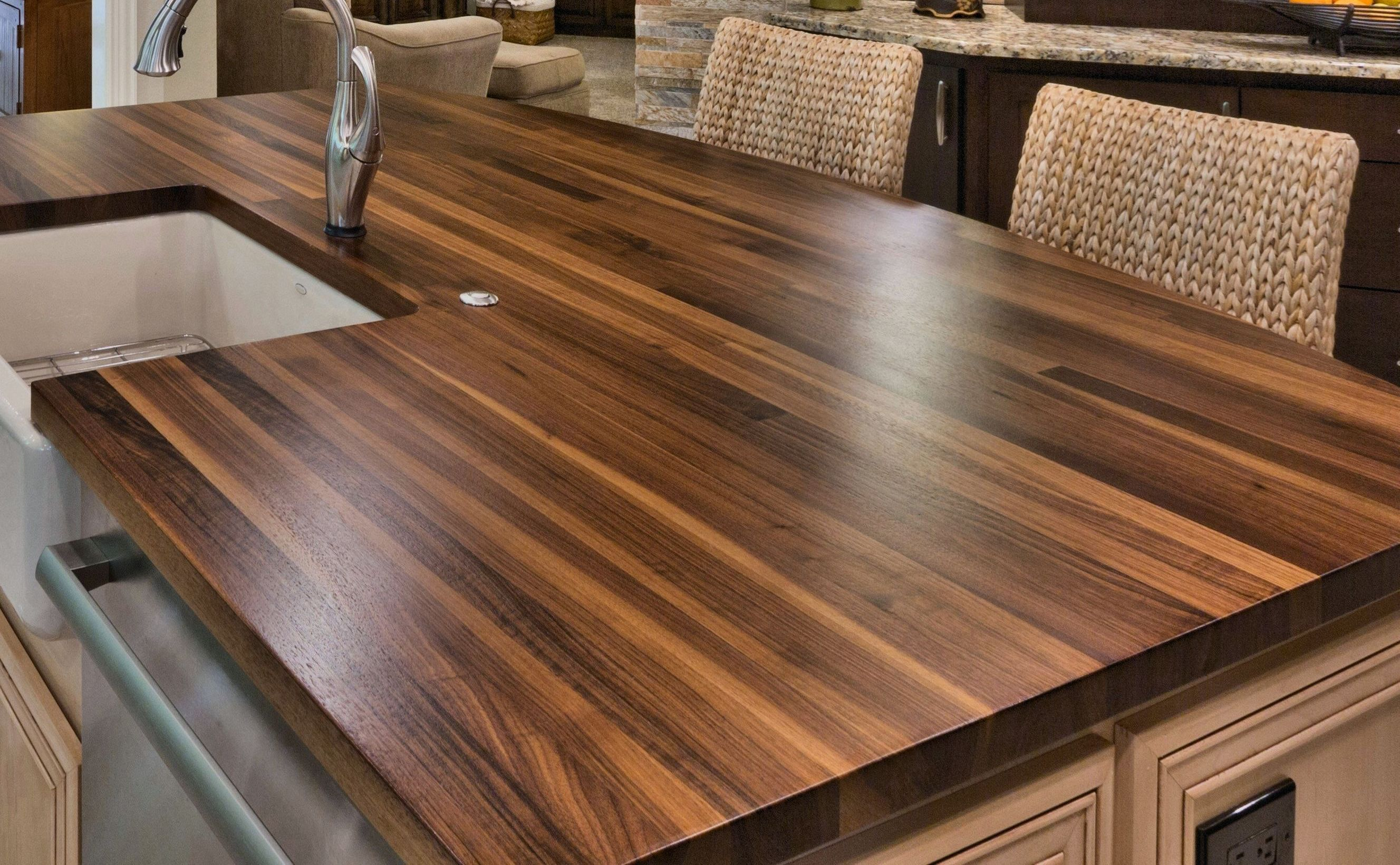 Styles For Custom Wood Countertops