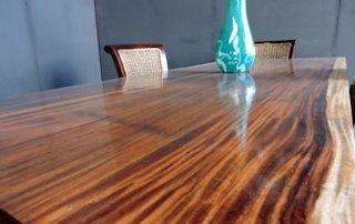 Guanacaste Parota Live Edge Wood Slab Countertops