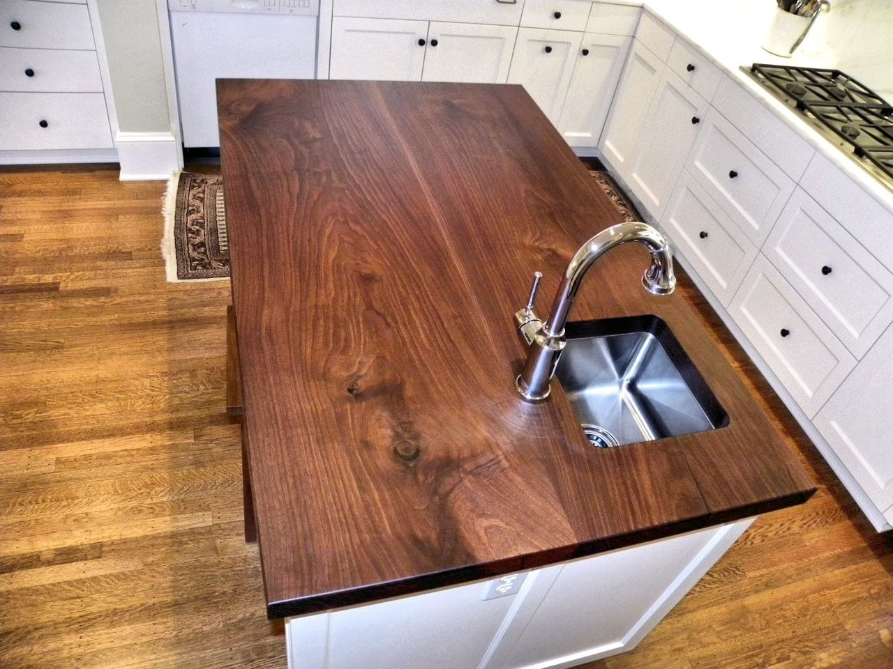 Walnut Slab Countertop Opendoor