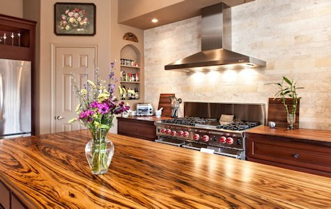 Zebrawood Wood Countertops And Table Tops